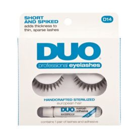 Professional Eyelashes D14 – Short and spiked