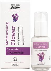 Moisturizing flower daily face cream - 30 ml