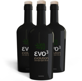Evo3 extra virgin organic olive oil