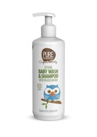Soothing Baby Wash & Shampoo with organic baobab 500