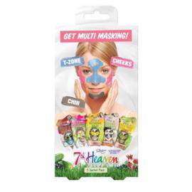 7th Heaven Multi Masking Multipack
