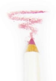 100% Pure Organic Lip Crayon: Pink
