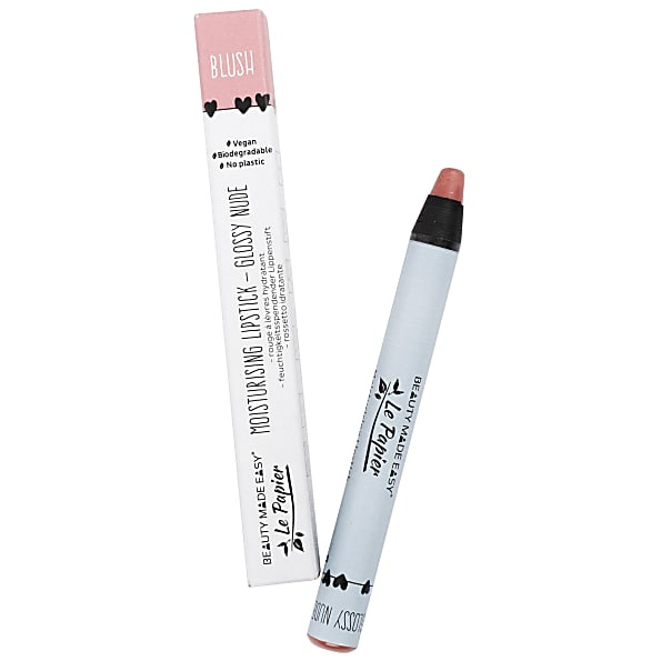 Beauty Made Easy Le Papier Glossy Lipstick - Blush