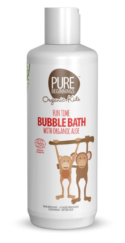 Fun Time Bubble Bath with organic aloe