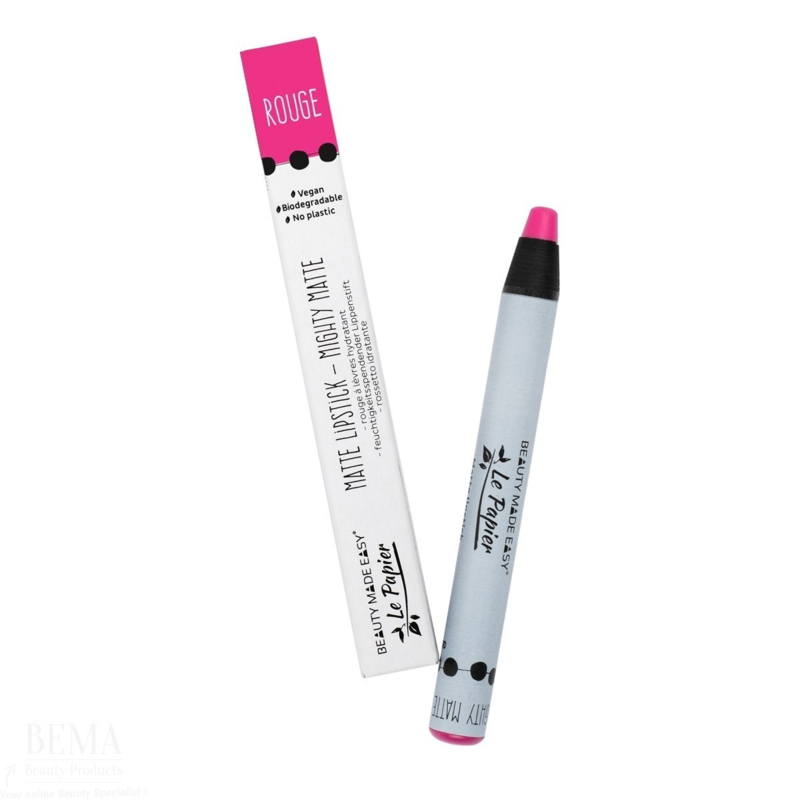 Beauty Made Easy Le Papier Matte Lipstick - rouge