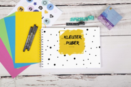 Van kleuter tot puber invulboek - Okergeel