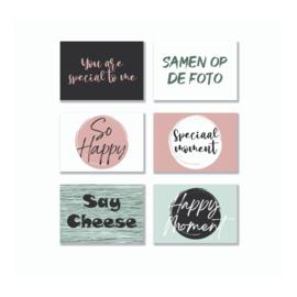 Quote Cards - Momenten (6 stuks)