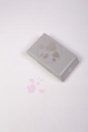 Hart confetti figuurpons - EK tools