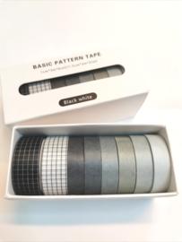 Washi Tape - Black & White