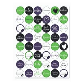 Stickervel 'Feestdagen' - YP