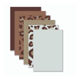 Achtergronden Warme Tinten bruin (12 stuks) YP