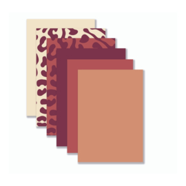 Achtergronden Warme Tinten rood (12 stuks) YP