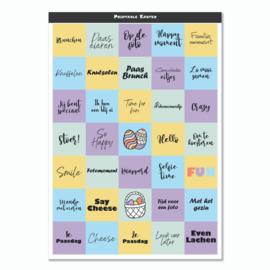 Mini Quote Cards - Pasen