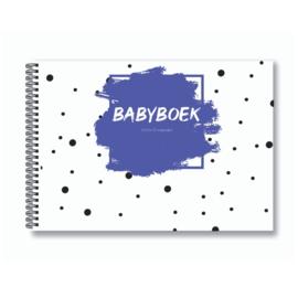 Babyboek | Baby's eerste jaar - Paars