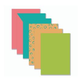 Achtergronden - Roze/Blauw/Oranje/Groen (YP)