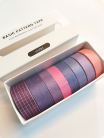 Washi Tape - Purple & Voilet