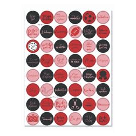 Stickervel 'Vrije tijd' - YP