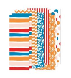 Papierstroken Koningsdag (12 stuks)