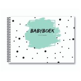 Babyboek | Baby's eerste jaar - Mint