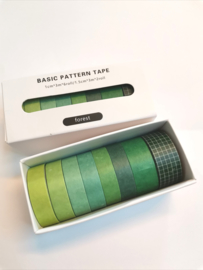 Washi Tape - Pattern Forest