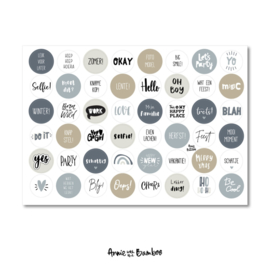 Stickervel 'Invul jaarboek III'