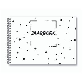 Jaarboek invulboek - Wit