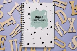 Babyshower invulboekje