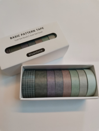 Washi Tape - Bluestone grey
