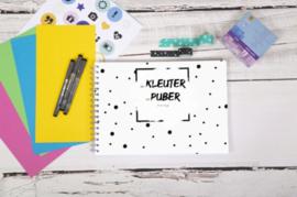 Van kleuter tot puber invulboek - Zwart / wit