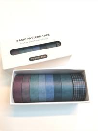 Washi Tape - Purplisch blue