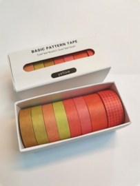 Washi Tape - Yellow & Orange