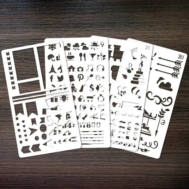 Journal stencils - 30 stuks