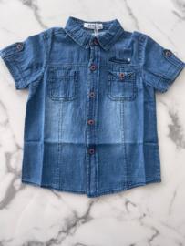 "Overhemd ""Jeans stof"""