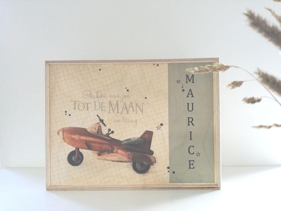 memory box, herinneringskist, kraamcadeau