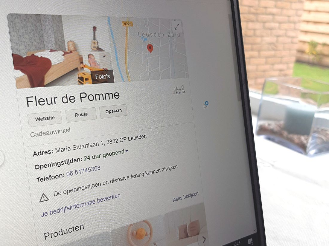 marketing, google mijn bedrijf