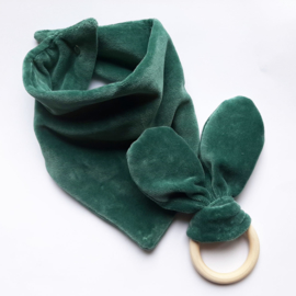 Kraamcadeau Setje - Velvet Misty green