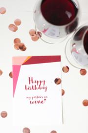 Postkaart - Happy Birthday