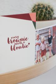 Postkaart - Brownie