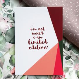 Postkaart - Limited