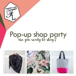 Ja! Ik wil een Pop-up shop party!