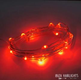 Ibiza Hairlights - Red