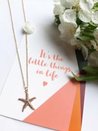 Postkaart  -  Little things