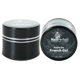 NailPerfect Paint On French Gel (white)