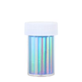 Transfer Foil Hologram Blue