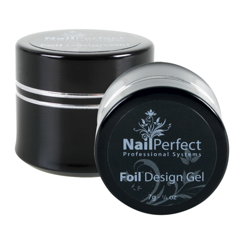 NailPerfect Foil Design Gel (black)