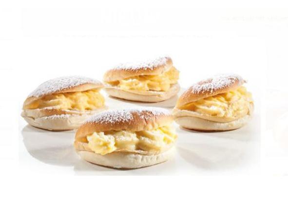 Puddingbroodjes - 4 stuks