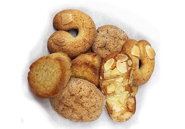 Amandelkoekjes - gesorteerd per 100 gram