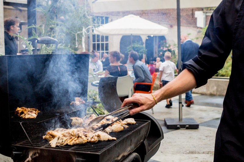 """Fine dining Barbecue"" Vanaf: 16 - Personen (€ 82,50 p.p.)"