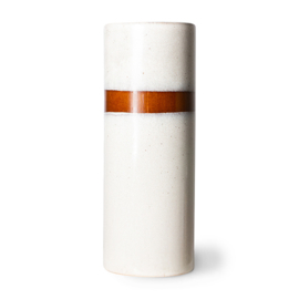 70s ceramics: vase l, snow