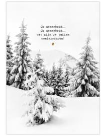 Poster oh denneboom
